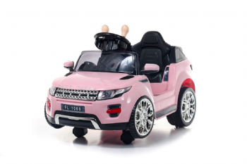 Battery Powered - 6V Pink Evoque Ride On Car